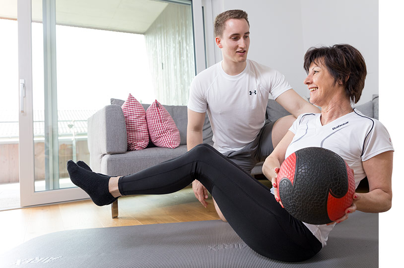 Personal Training in der eigenen Wohnung