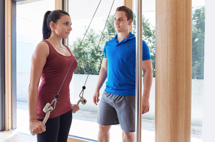 Personal Training – Seilzug